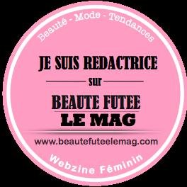 Badge Rédactrice Rose