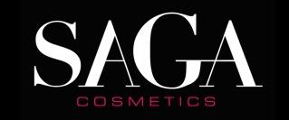 saga logo fond noir HD