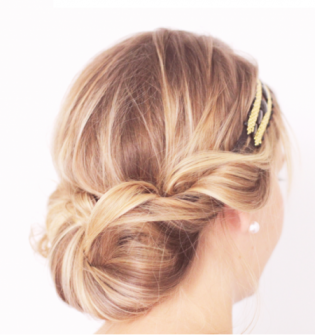 headbandchignon