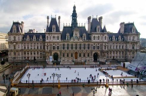 patinoire paris hôtel de ville Lady heavenly 2