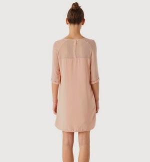 robe-en-crepe-femme-rose-pale