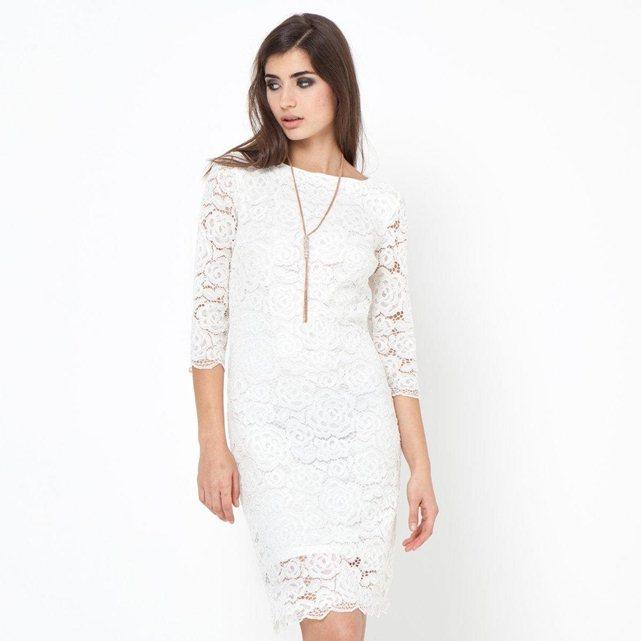 Robe blanche retour mariage