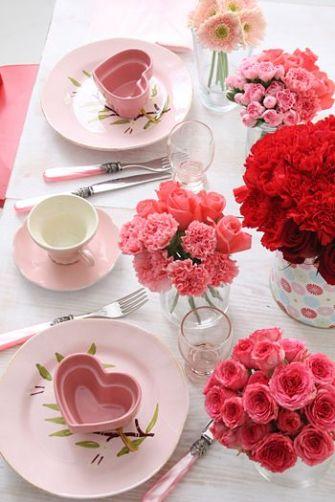 déco de table st valentin 3