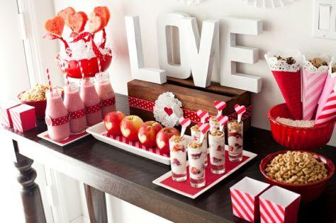idée de deco table st valentin 7