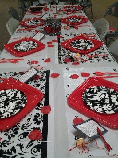 Saint Valentin 8 Ides De Dcorations De Table Beaute