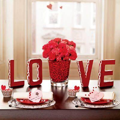 table déco st valentin 2
