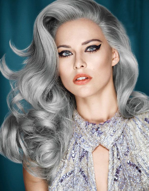 La Tendance Aux Cheveux Gris Vraiment Fashion Beaute Mode