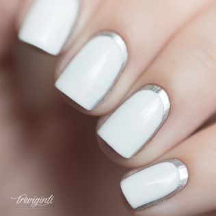 ongles-blanc-argente