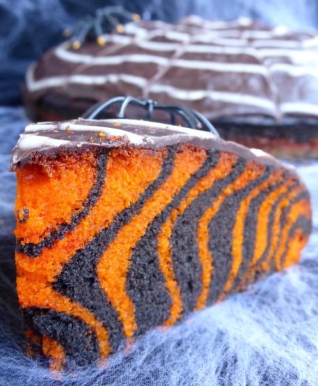gateau-d-halloween-facile-zebra-cake